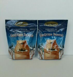 Stephen's Gourmet Candycane Brownie Mix 17.46 oz.ea.-- Two Pkgs. FREE SHPG