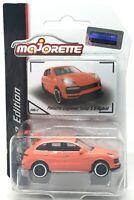 Majorette Porsche Cayenne Turbo S E-Hybrid Orange 1/64 209C Free Display Box