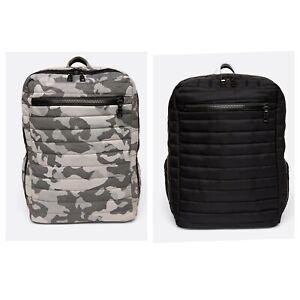 Think Royln 24/7 Backpack Black & Gray Camouflage XL Travel Overnight Bag NWT