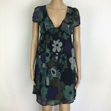Tokito Floral Smock Dress Cap Sleeves Size 8 NWT RRP $99 (BL12)