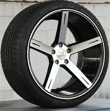 "4) 20"" 20X9/2010.5 5X112 WHEELS & TIRES PKG for BENZ CLS E S SL 350 400 500 550"