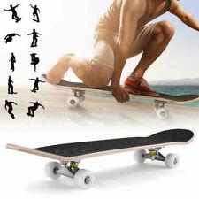 Skateboard Cruiser Skateboard Komplettboard mit ABEC - 7 Kugellager Holzboard DE