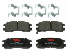 For 1988, 1994-2012 Mitsubishi Galant Brake Pad Set Rear TRW 59896QZ 1995 1996
