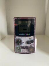 Nintendo Game Boy Color Transparent Inkl. Zidane Football G. - Guter Zustand -