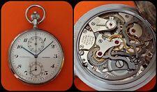 EXCELSIOR PARK -chronograph-pocket watch- H.C. Henderson Rotherham-vintage-rare