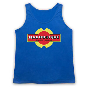 NABOOTIQUE UNOFFICIAL THE MIGHTY BOOSH NABOO COMEDY TV ADULTS VEST TANK TOP