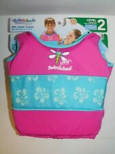 Girls Swimsuit & Matching Swim Vest Float Pool Swimming Trainer Age 2-4 / 4-6 Yr