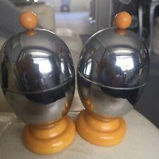 Pair Deco Egg Coddlers