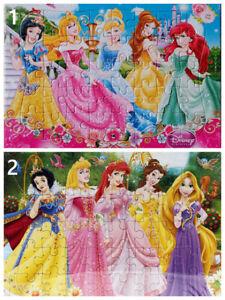 2 X DISNEY PRINCESS Snow White 40-Piece Jigsaw Puzzle Best Gift TOY for Kids