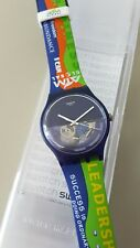 Swatch AIM Global Special SUON105F - Blue Depth - very rare - Alliance In Motion
