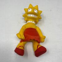 """LISA SIMPSON 8""""  DOLL The Simpsons 1990 TV  Burger King  CARTOON  Plush  figure"""