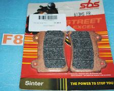 2 plaquettes de frein SBS Yamaha FJ 1200 XJR 1200 FZR 750 XVZ 1300 SRX 600 400