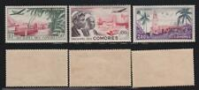 AV19 - AVIATION STAMPS COMOROS 1950 AIR MAIL MNH