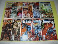 Teen Titans New 52 1-7 signed Blue Beetle 1-3 + Blackhawks & Frankenstein VF/NM