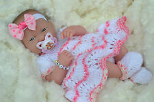 PJs ❤ LEXI ❤ BABY GIRL DOLL BERENGUER LA NEWBORN + DUMMY & EXTRAS 4 REBORN/ PLAY