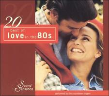 20 Best of Love in the 80s by The Countdown Singers (CD, Jan-2004, Madacy) New