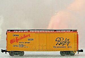 ATLAS 40' Plug Door Beer Reefer ~ BLATZ BEER ~ Rd# URTX 37107 - N