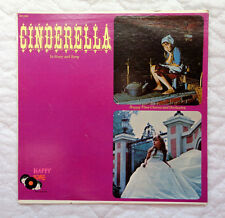 Happy Time Records Cinderella In Story and Song lp, ROB MARSHALL, RARE, EXC. C!