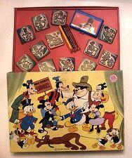 Walt Disney's Carousel * TIMBRI IN LEGNO VINTAGE ANNI '80 * MultiPrint Art348bis