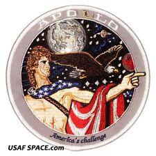"Apollo 17 Spirit Commemorative 5"" Tim Gagnon ORIGINAL AB Emblem NASA SPACE PATCH"