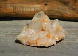Clear Quartz Crystal Cluster from Arkansas for Meditation Positive Energy Decor