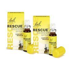 Bach Rescue Remedio Spray 20ml - 2 Paquete