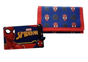 Marvel Spiderman Wallet Coin Money Wallet Kids Children Licensed NEW