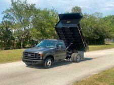 2008 Ford F- 350 5.4 Gas Dump Truck 8.5 Foot Dump Bed V8 Superduty