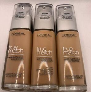 L'Oréal true match super-blendable foundation 30 ML  different shades