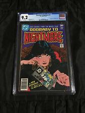 DC 1978 Doorway to Nightmare #1 CGC 9.2 Near Mint- WHITE Pgs 1st Madame Xanadu