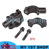 2x10mm Mirrors Adaptor Mount Brackets Universal Motorcycle dirtbike MX handlebar