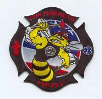 Naval Air Station NAS Oceana Fire Station 7 USN Navy Military Patch Virginia VA