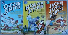 DC Comics Sports Illustrated 1992 Ozzie Smith, Ryan Kersee, & Nolan Ryan 3