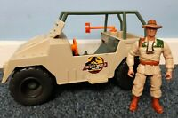 Vintage 1997 Jurassic Park The Lost World Net Trapper Jeep & Eddie Action Figure