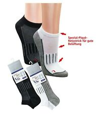 3 Paar Sneaker Socken Sport Freizeit Funktionssocken antibakteriell Size 35-50