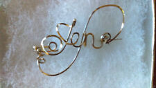 Wire Name pin ANY name vintage style made just for you