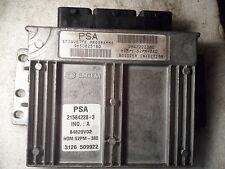 Citroen C3 1.4 8v engine SAGEM S2PM-380 ECU 9650825180 9642222380