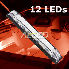 12V LED Hard Strip Light Red Color Waterproof Car/RV/Boat/Marine/Camper Trailer
