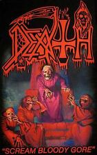 """DEATH FLAGGE / FAHNE """"SCREAM BLOODY GORE"""" POSTERFLAG"""
