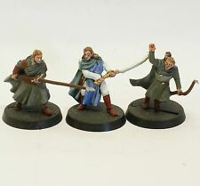Elb 3 WALDELBEN Schwert Speer Bogen Herr der Ringe Games Workshop PLASTIK Hobbit