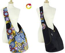 Damen-Beuteltaschen aus Baumwolle mit Reißverschluss