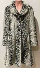 Sandra Steiner Modacrylic Fur Coat Size S