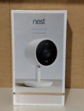 Nest - Nest Cam IQ Indoor Full HD Wi-Fi Home Security Camera - White