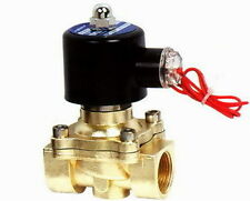 """3/4"""" Electric Solenoid Valve 240VAC Air, Water... .new"""