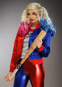 Teen Girls Suicide Squad Harley Quinn Supervillain Fancy Dress Costume Kit