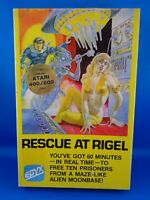 ATARI 400/800 --> RESCUE AT RIGEL   /   DISKETTE