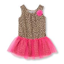 NEW TCP Baby Girls Leopard print mesh sleeveless Dress Shirt 3T Gift! CUTE 19.95