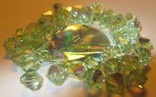 20 Swarovski Perlen 6 mmØ Crysolite-AB, AuroreBor. # 5301-238-AB