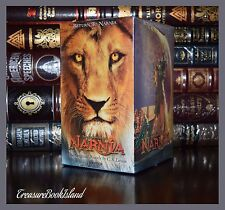 The Chronicles of Narnia by C.S. Lewis New Sealed Paperback 7 Volume Box Set