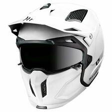 MT STREETFIGHTER FULL FACE OFF ROAD MOTORCYCLE MOTORBIKE CRASH HELMET WHITE